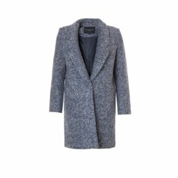 On Parle De Vous Straight Wool Coat