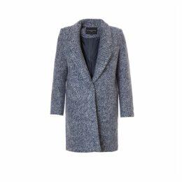 On Parle De Vous Straight Wool Coat