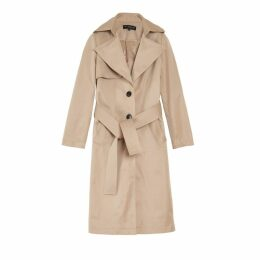 On Parle De Vous Long Trench Coat