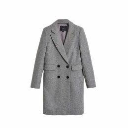 On Parle De Vous Long Woolen Coat
