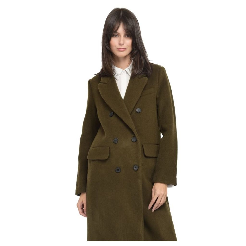 On Parle De Vous Long Crossed Coat