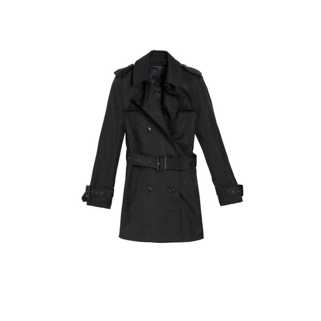 On Parle De Vous Short Trench Coat
