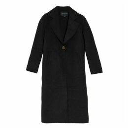 On Parle De Vous Long Coat In Woollen Cloth