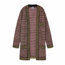 M Missoni Metallic Tweed Coat