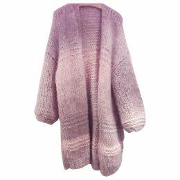Pink Wool Knitwear