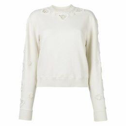 Ecru Cotton Knitwear
