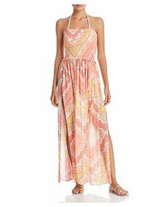 Ramy Brook Printed Calista Dress Swim Cover-Up