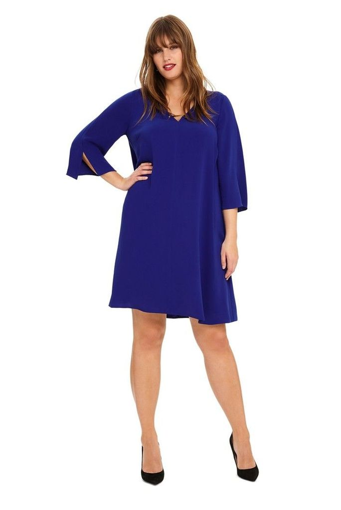 Womens Studio 8 Blue Elmira Swing Dress -  Blue