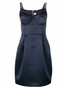Victoria Victoria Beckham short fitted dress - Blue