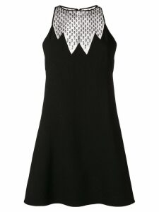 Saint Laurent beaded mini dress - Black
