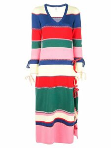 Rosie Assoulin striped knitted dress - Multicolour