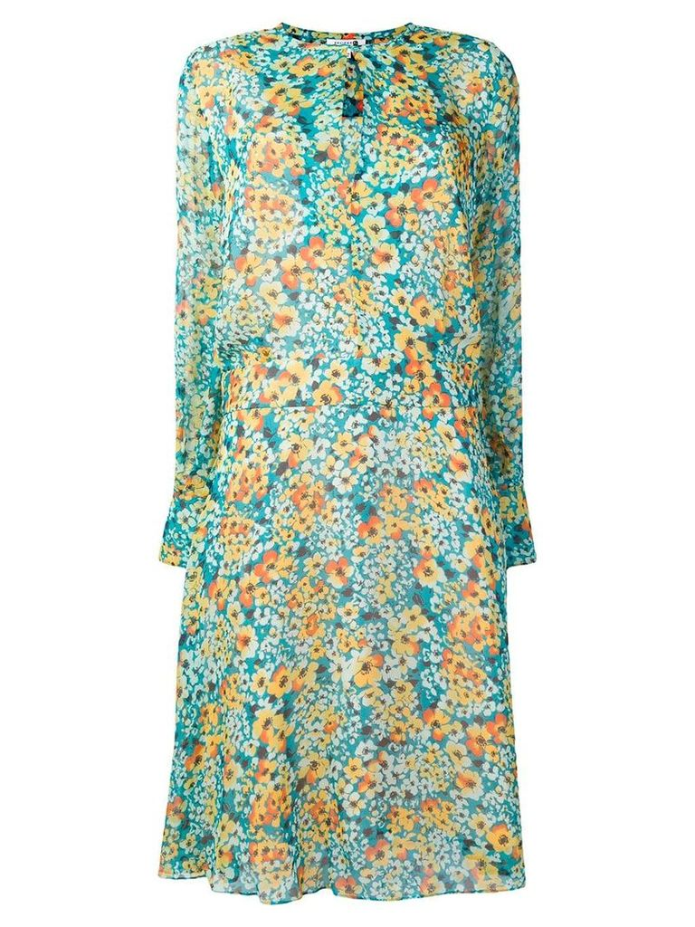 Equipment Magnolia dress - Blue