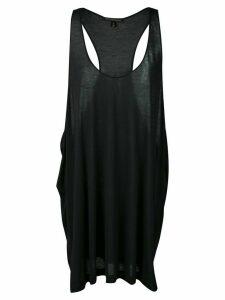 Kiki de Montparnasse Amour racerback dress - Black