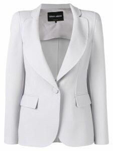Giorgio Armani single-breasted blazer - Grey