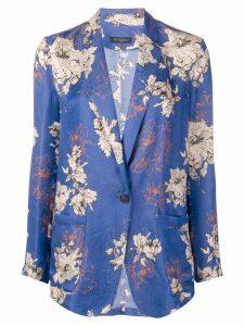 Antonelli floral print blazer - Purple