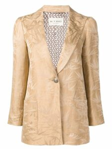 Etro patterned blazer - Brown