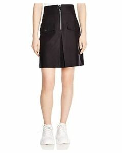 Sandro Aliya Zip-Detail Pocket Skirt