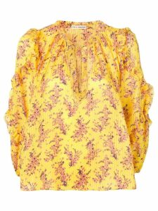 Ulla Johnson floral print blouse - Yellow