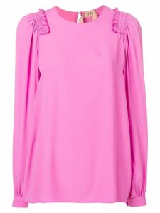 Nº21 floaty blouse - Pink