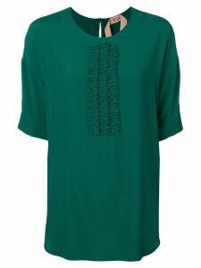 Nº21 floaty blouse - Green