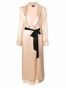 Kiki de Montparnasse Amour kimono-style robe - Pink