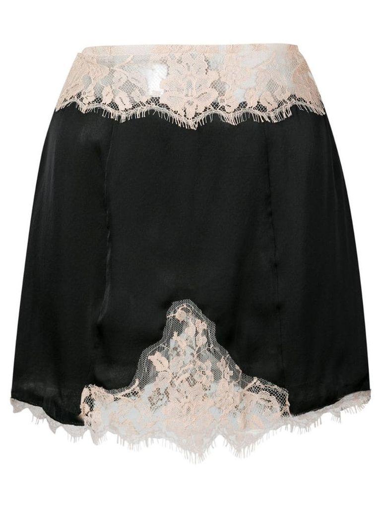 Kiki De Montparnasse Le Reve slip skirt - Black
