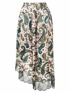 Zadig & Voltaire Joslin paisley skirt - Pink