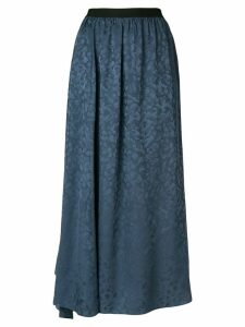 Zadig & Voltaire Jess long skirt - Blue