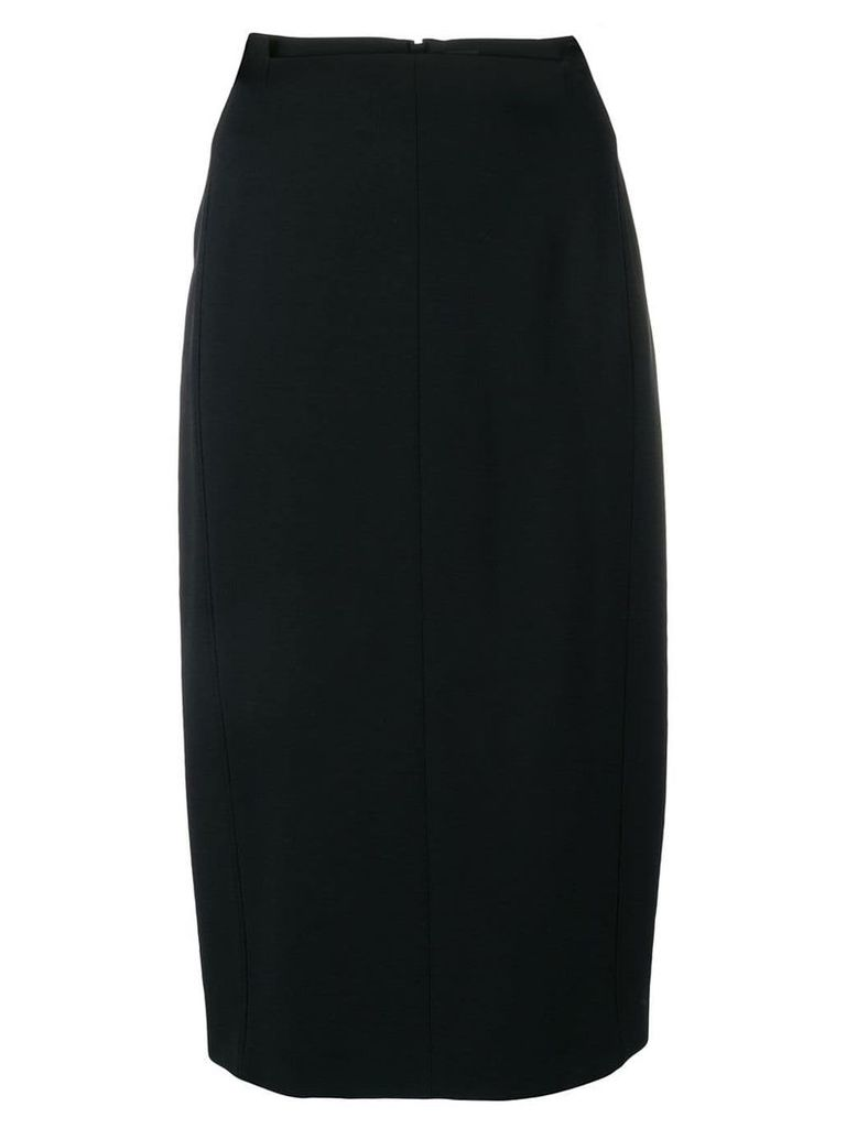 Joseph plain pencil skirt - Black