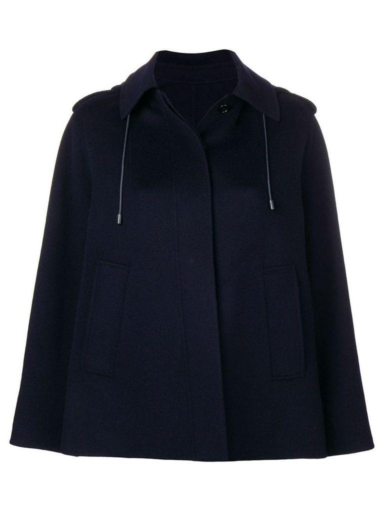 Joseph cape-style jacket - Blue