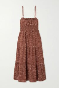 Off-White - Lace-up Paneled Jacquard And Jersey Dress - Black