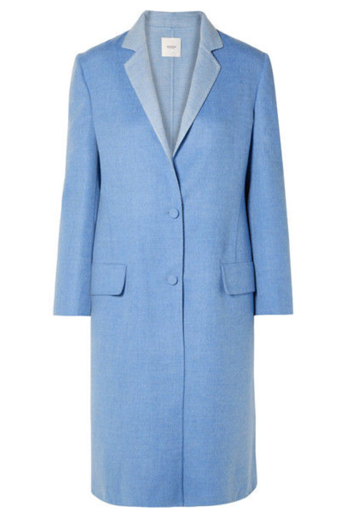 Agnona - Century Cashmere Coat - Blue