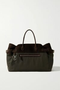 MM6 Maison Margiela - Cotton-blend Corduroy Trench Coat - Brown