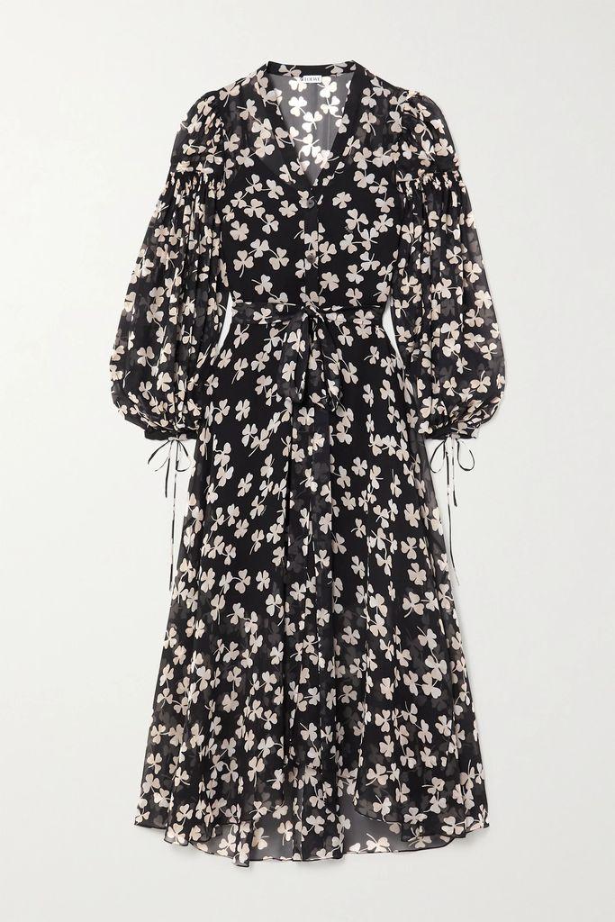 Alexander Wang - Embellished Silk Satin-trimmed Wool Blazer - Black