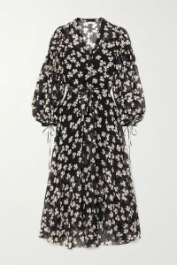 Alexander Wang - Embellished Silk Satin-trimmed Wool Blazer - Black