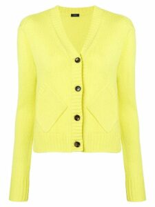 Joseph button V-neck cardigan - Yellow