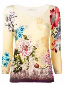 Etro floral sweater - Neutrals