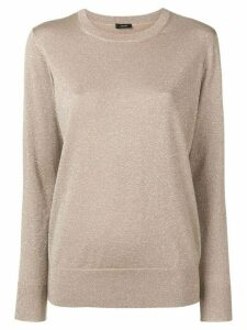 Joseph round neck jumper - Neutrals