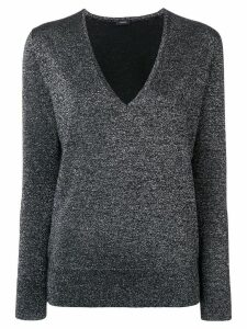 Joseph V-neck jumper - Black