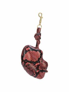 Anya Hindmarch Lips bag clip - Pink