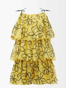 Missoni - Zigzag Knit Maxi Dress - Womens - Multi Stripe