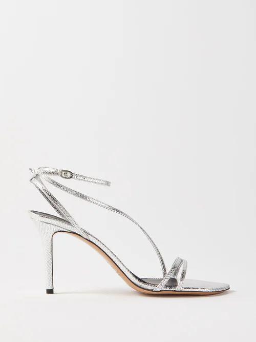 Dolce & Gabbana - Floral Print Tie Neck Silk Chiffon Dress - Womens - Black Pink