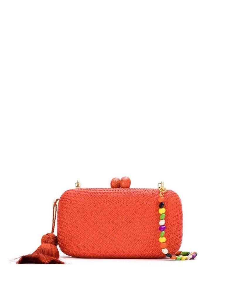 Serpui Karolyn Bun clutch bag - Orange