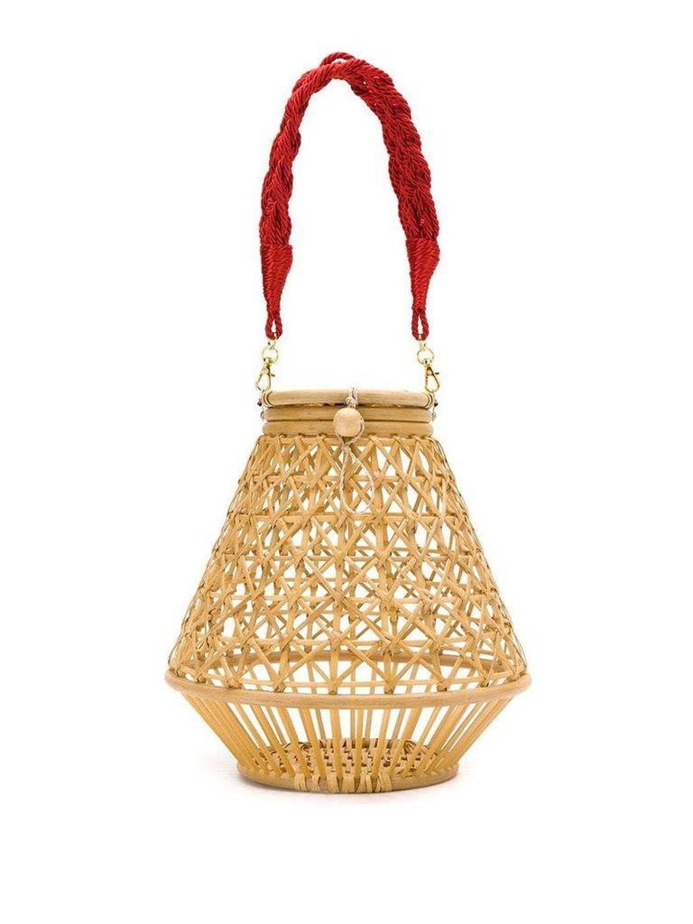 Serpui straw bag - Neutrals