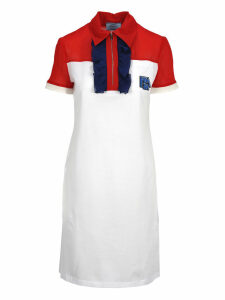 Prada Prada Ruffled Polo Shirt Style Dress