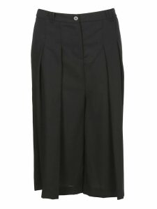 McQ Alexander McQueen Pleated Midi Skirt