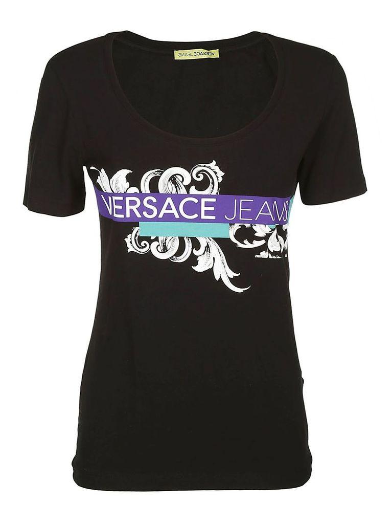 Versace Jeans Logo Print T-shirt