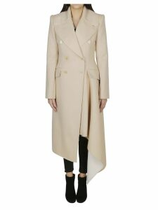 Alexander McQueen Draped Detail Coat