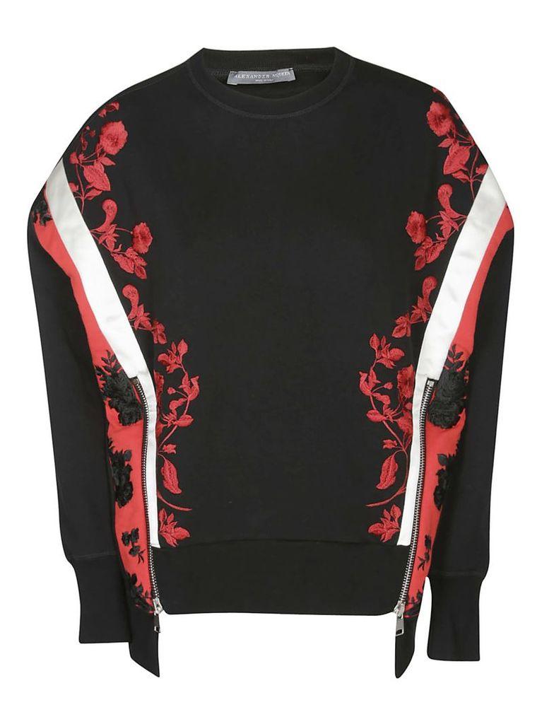 Alexander Mcqueen Embroidered Sweater
