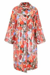 Marni Floral-printed Raincoat